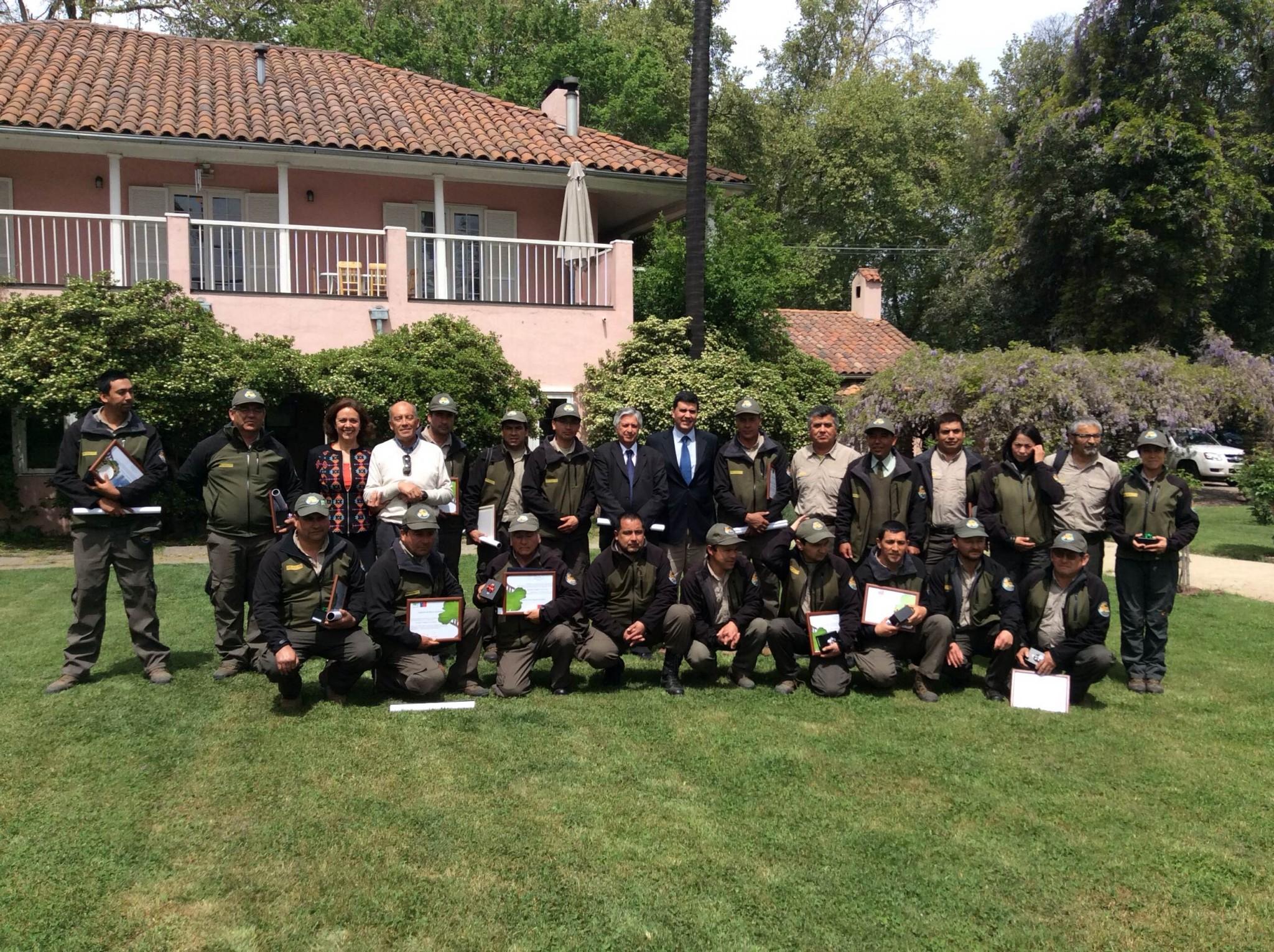 Subsecretario de Agricultura destaca trabajo de guardaparques en la celebración de su centenario