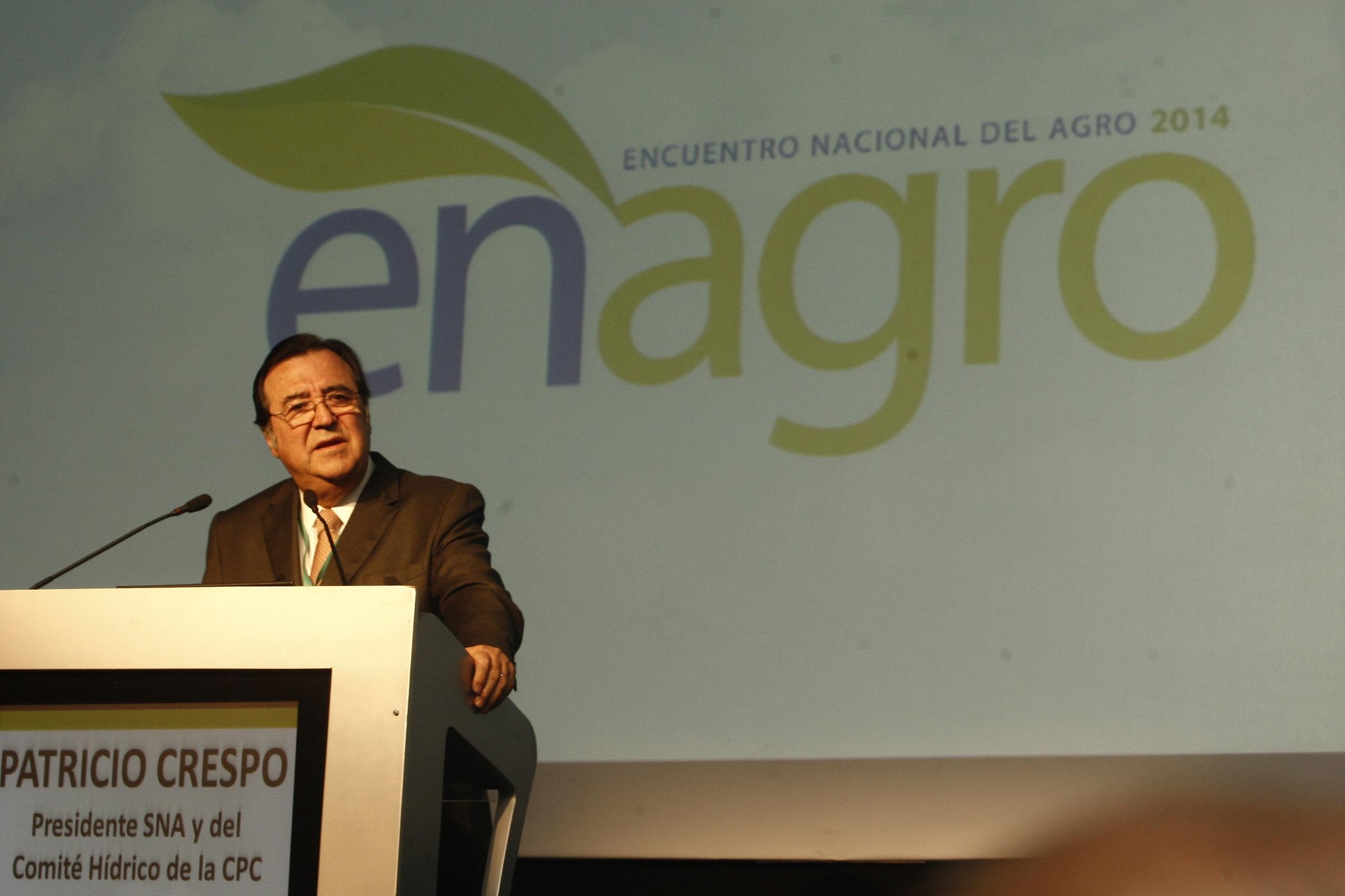 Presidente de la SNA alerta por indicaciones al proyecto que modifica el Código de Aguas