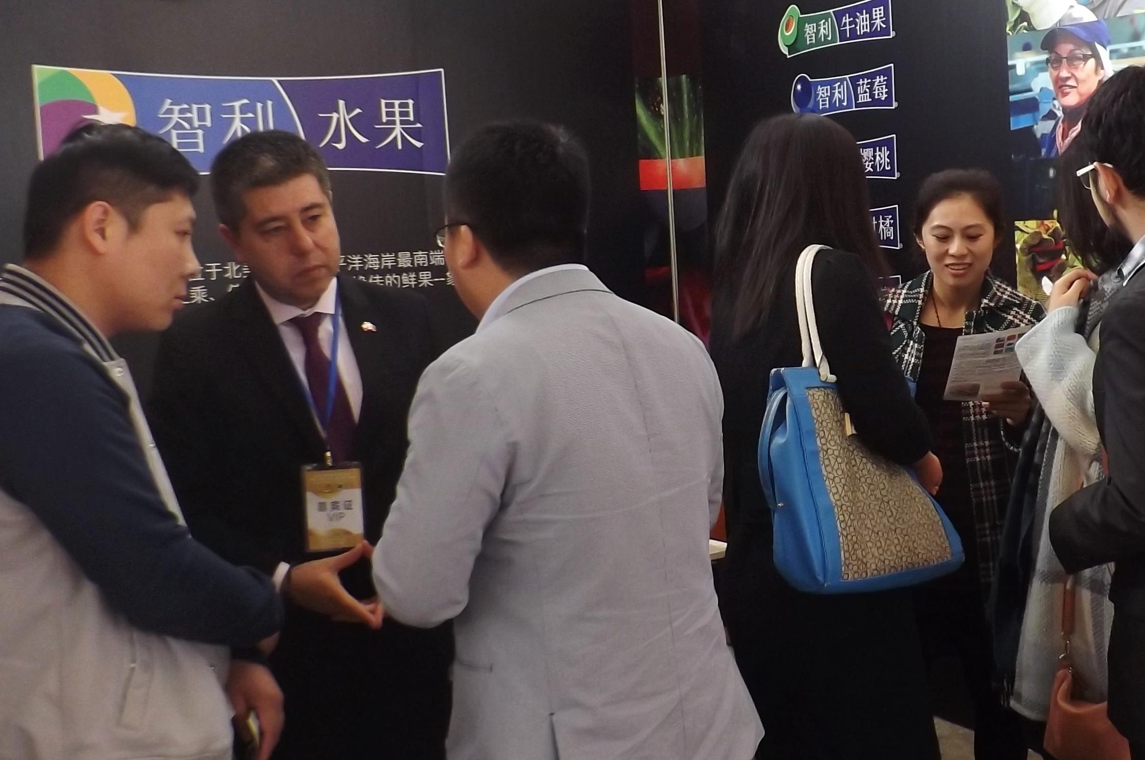 China: Industria chilena de la fruta participa en  7ª Feria Internacional de Agro-Productos