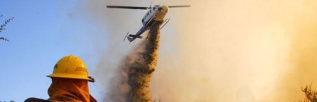 Logran control de incendio forestal en región de Los Lagos