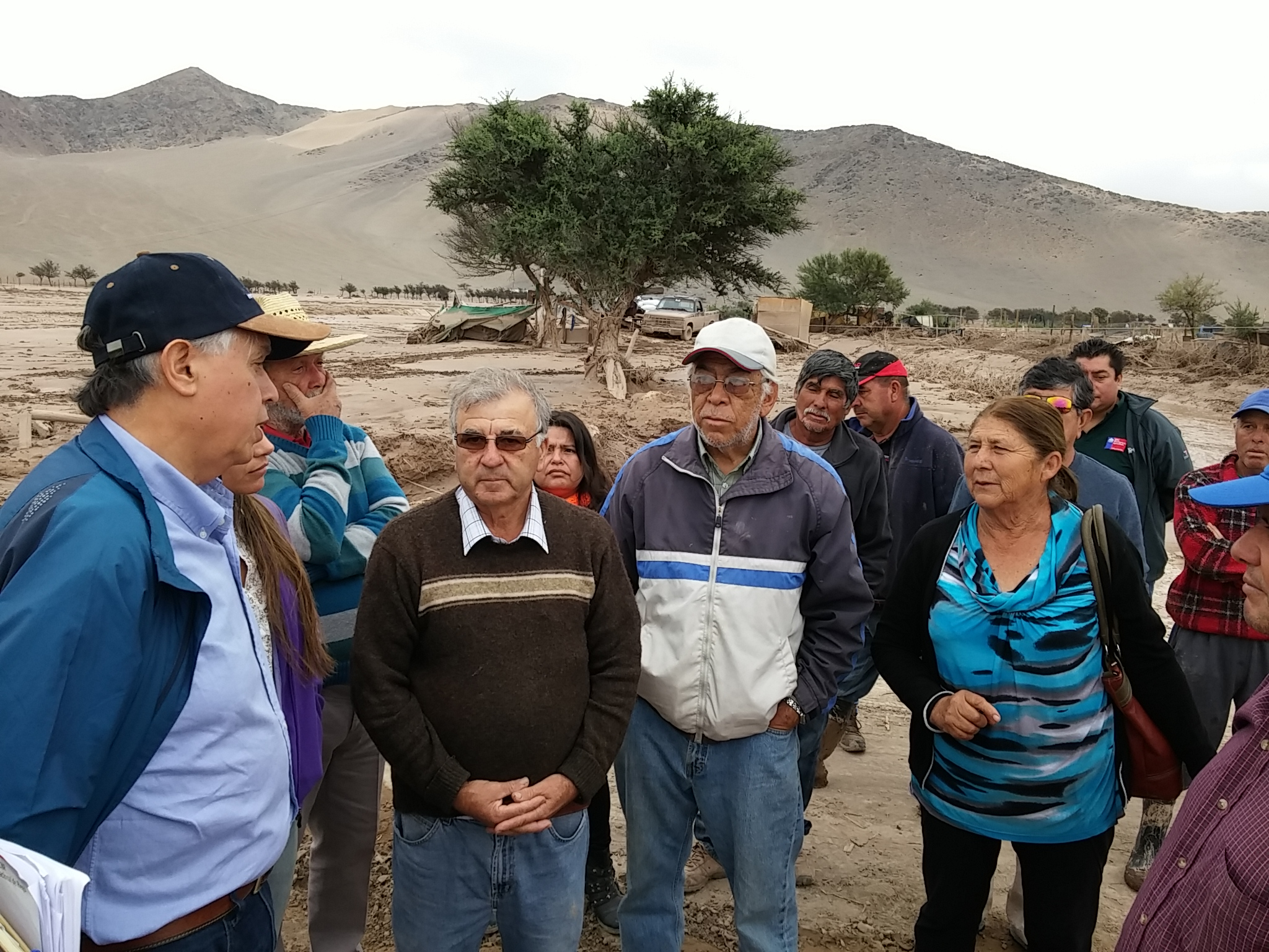 Minagri pone en marcha plan para recuperar infraestructura agrícola de Atacama
