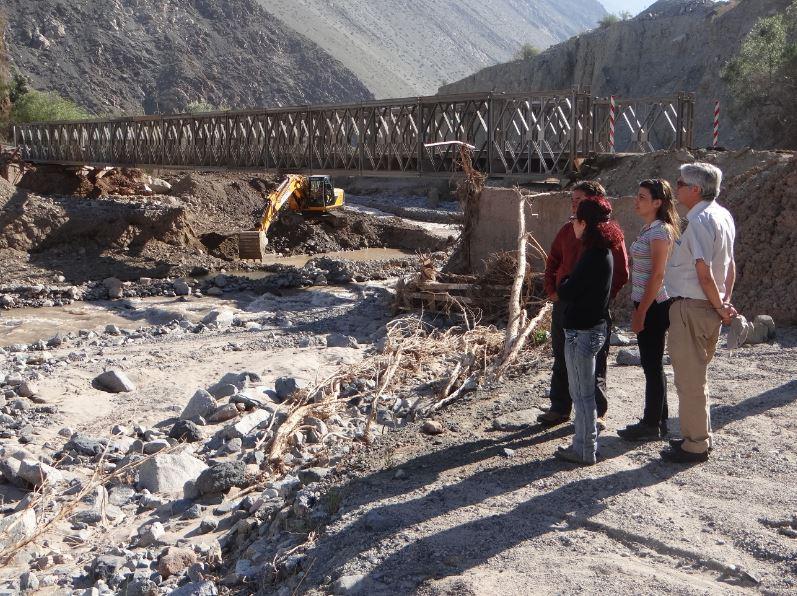 Ternicier constata avances en recuperación de riego en Atacama