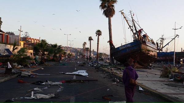 Puerto de Coquimbo: Pérdidas en oficinas del SAG y Aduanas