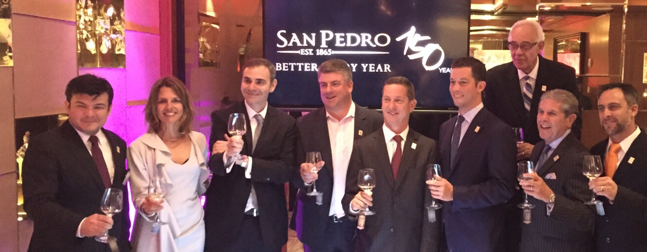 Viña San Pedro celebra sus 150 años en Estados Unidos