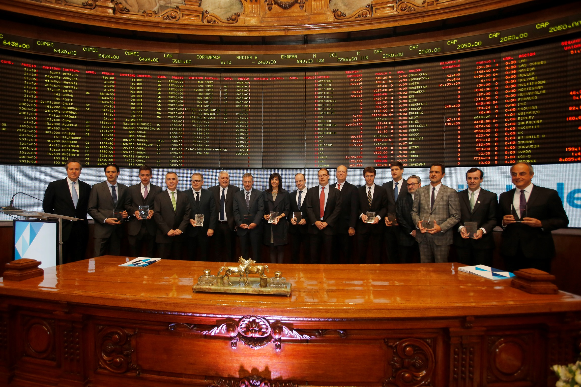 Viña Concha y Toro compone primer Índice de Sustentabilidad de la Bolsa de Santiago