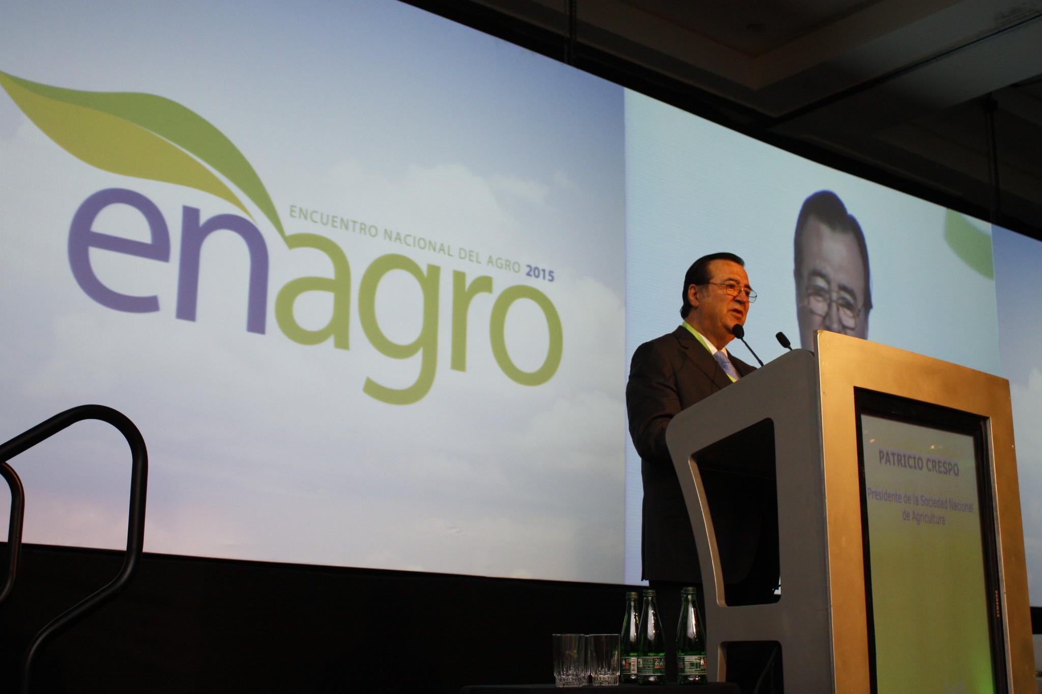 """SNA en Enagro 2015: """"Incertidumbres de las reformas están frenando a nuestro sector"""""""
