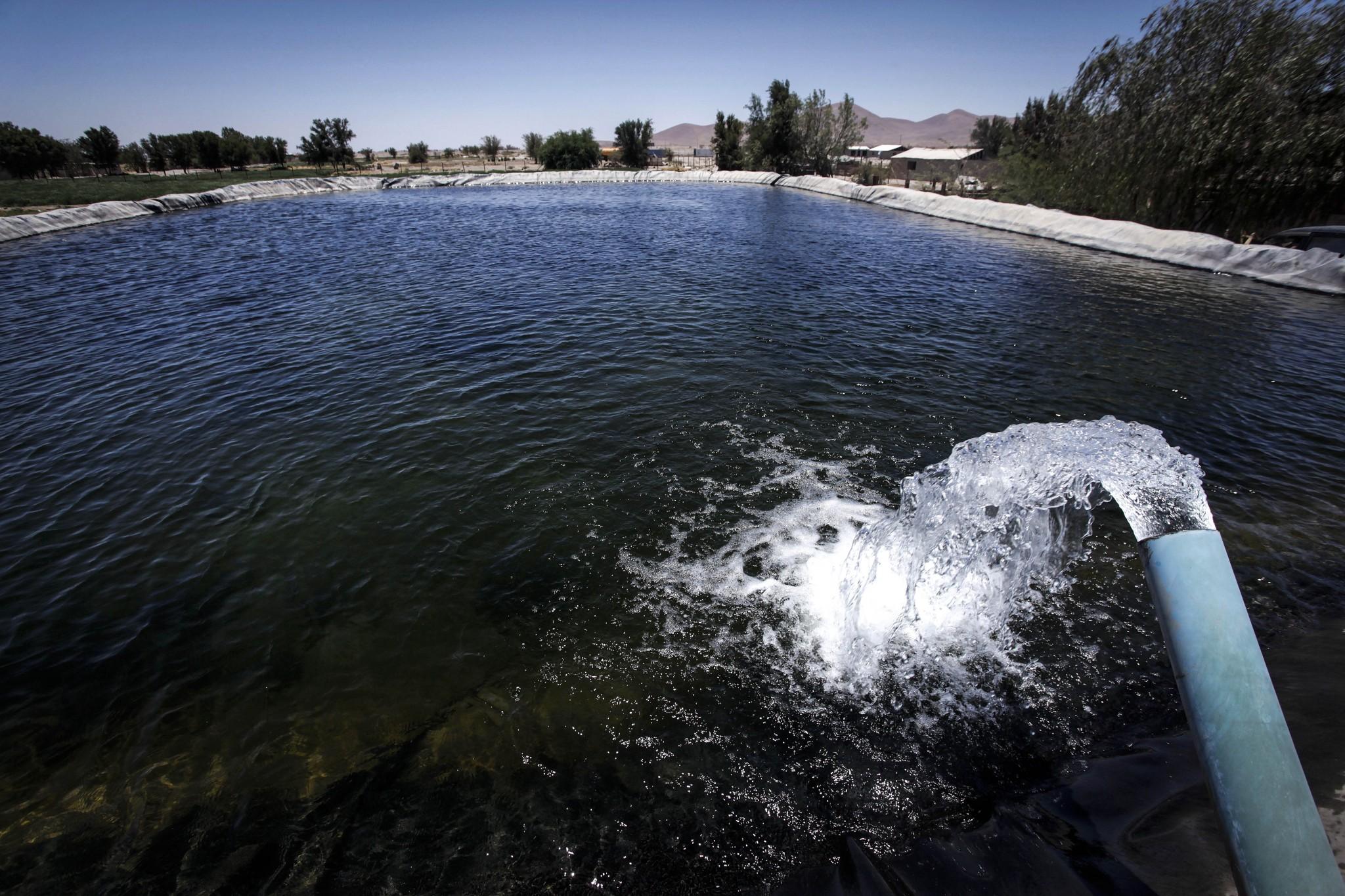 Buscan recuperar aguas residuales para uso agrícola en Pozo Almonte