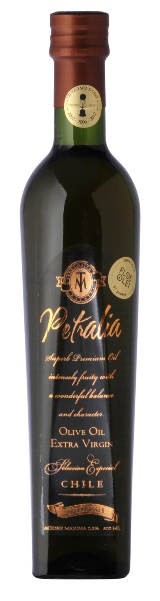 Última versión de Petralia es elegida el mejor aceite de oliva del mundo