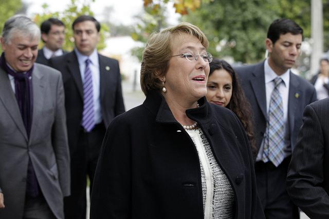 Presidenta Bachelet llega a la Araucanía para reunirse con víctimas de violencia