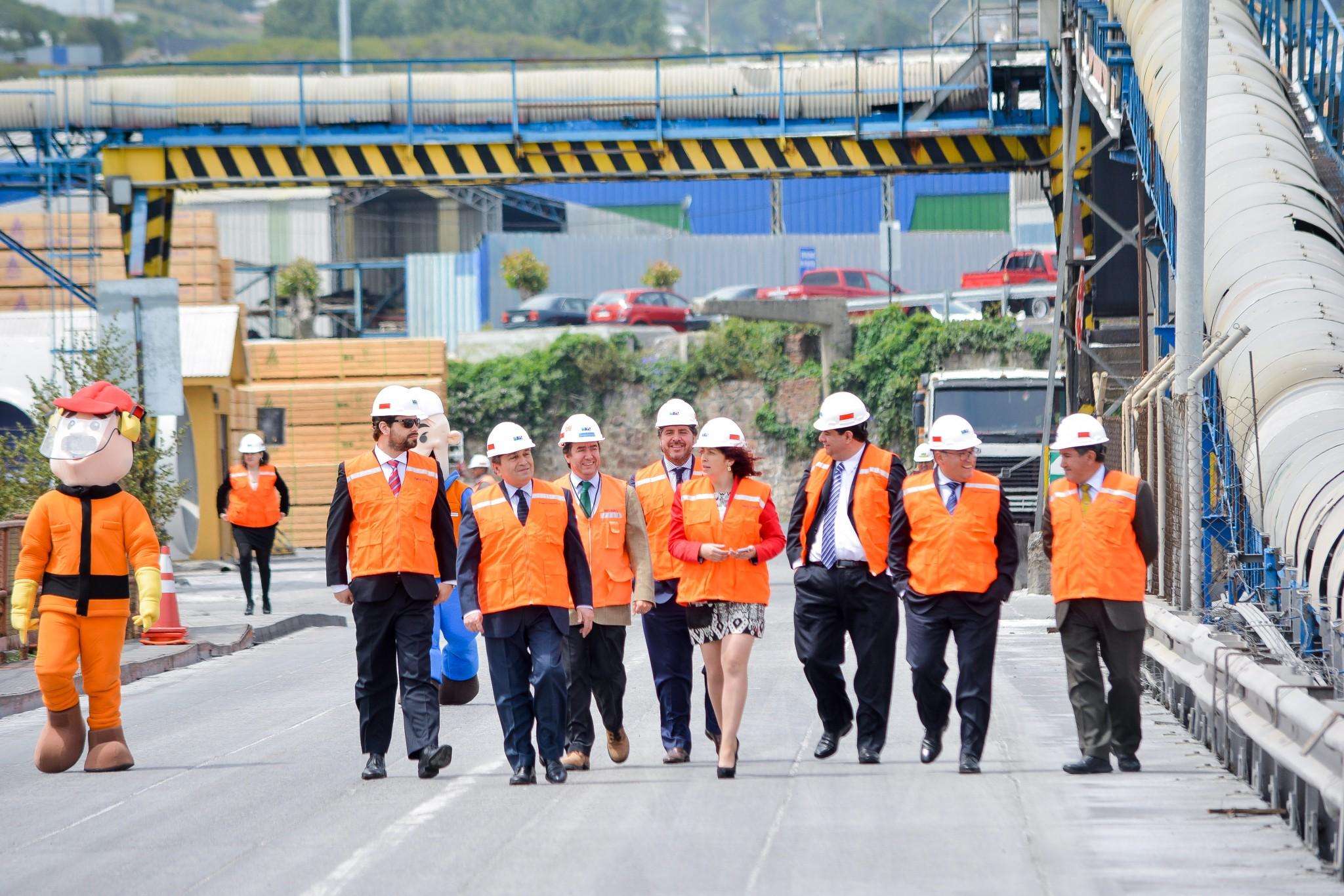 Puertos de Biobío se comprometen con la Producción Limpia