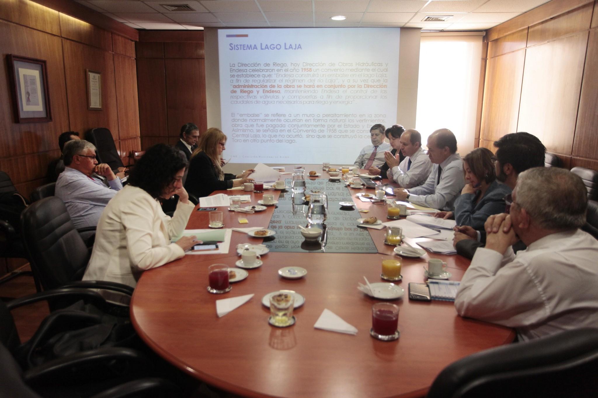 Consejo de Ministros de CNR ratificó convenio para uso eficiente de aguas del Lago Laja