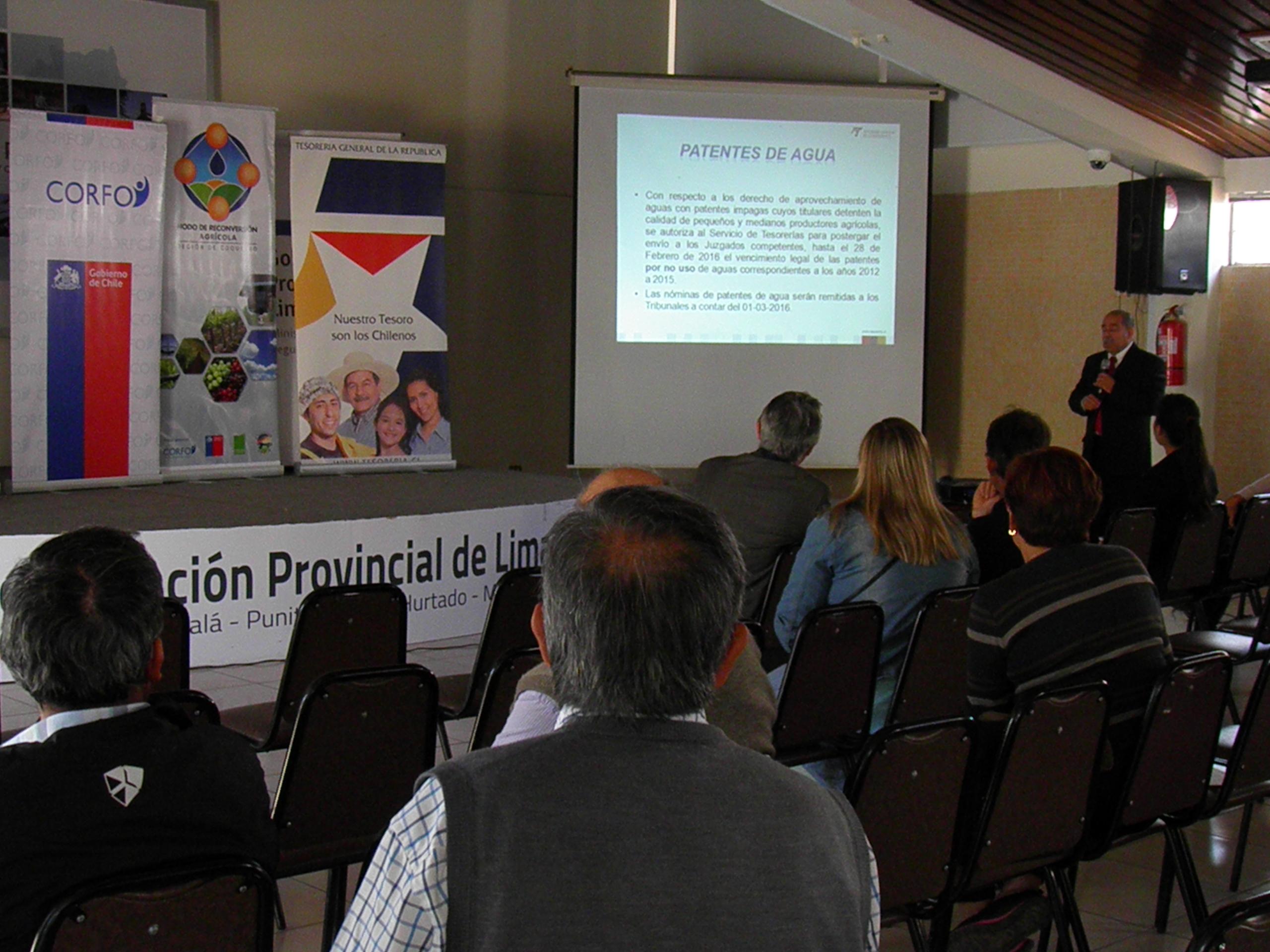 Nodo de Reconversión Agrícola finaliza con actividad en Ovalle