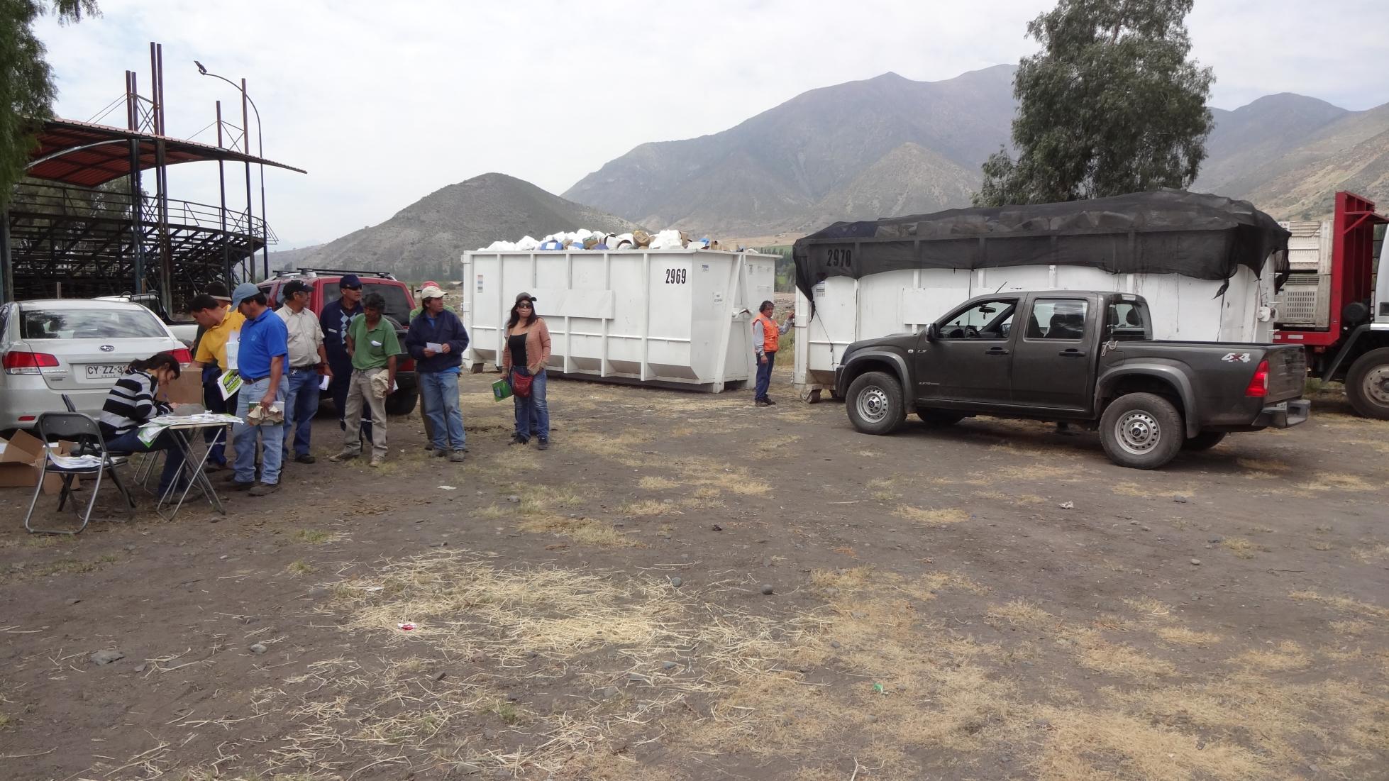 San Felipe: Logran reunir 7.610 kilos de envases vacíos de fitosanitarios