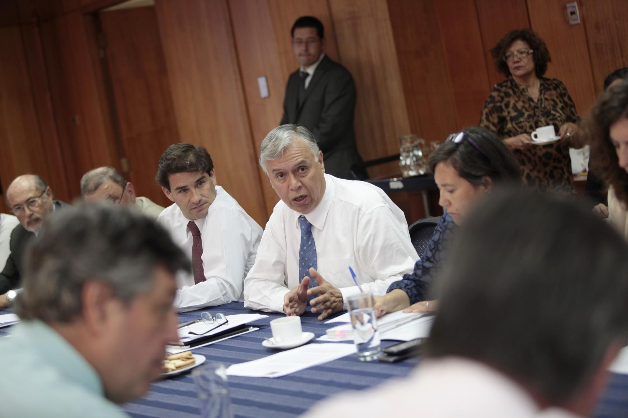 Furche encabeza primera reunión del año del Consejo Agroexportador de Alimentos