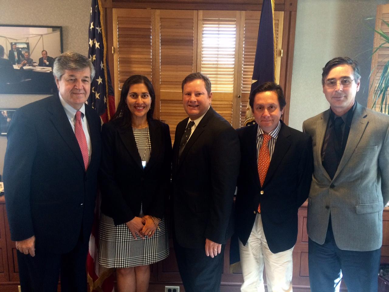 Directivos de ASOEX se reúnen con Embajador de Estados Unidos en Chile