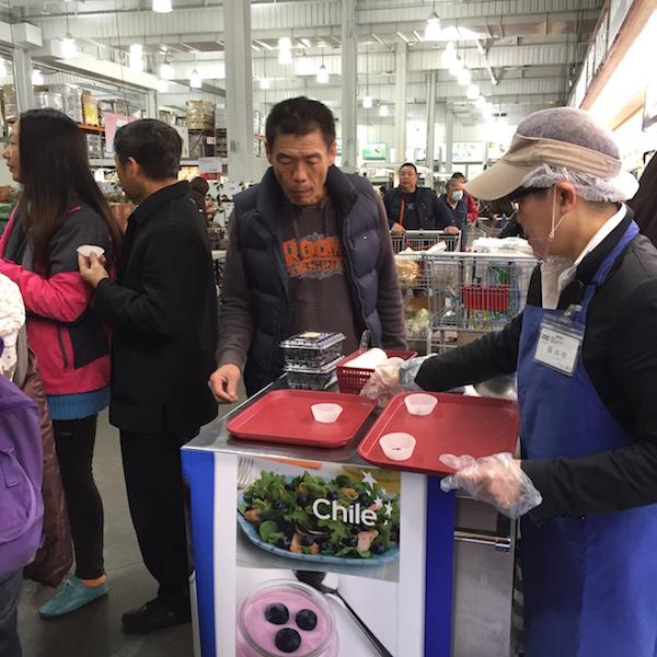 Con éxito se realiza primera campaña promocional de arándanos en Taiwán