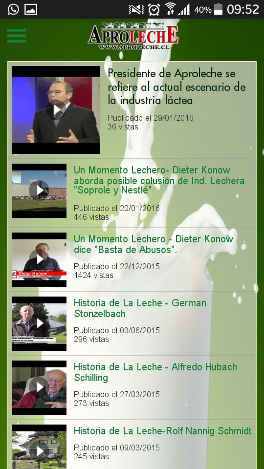 Aproleche Osorno lanza aplicación para facilitar el acceso de información