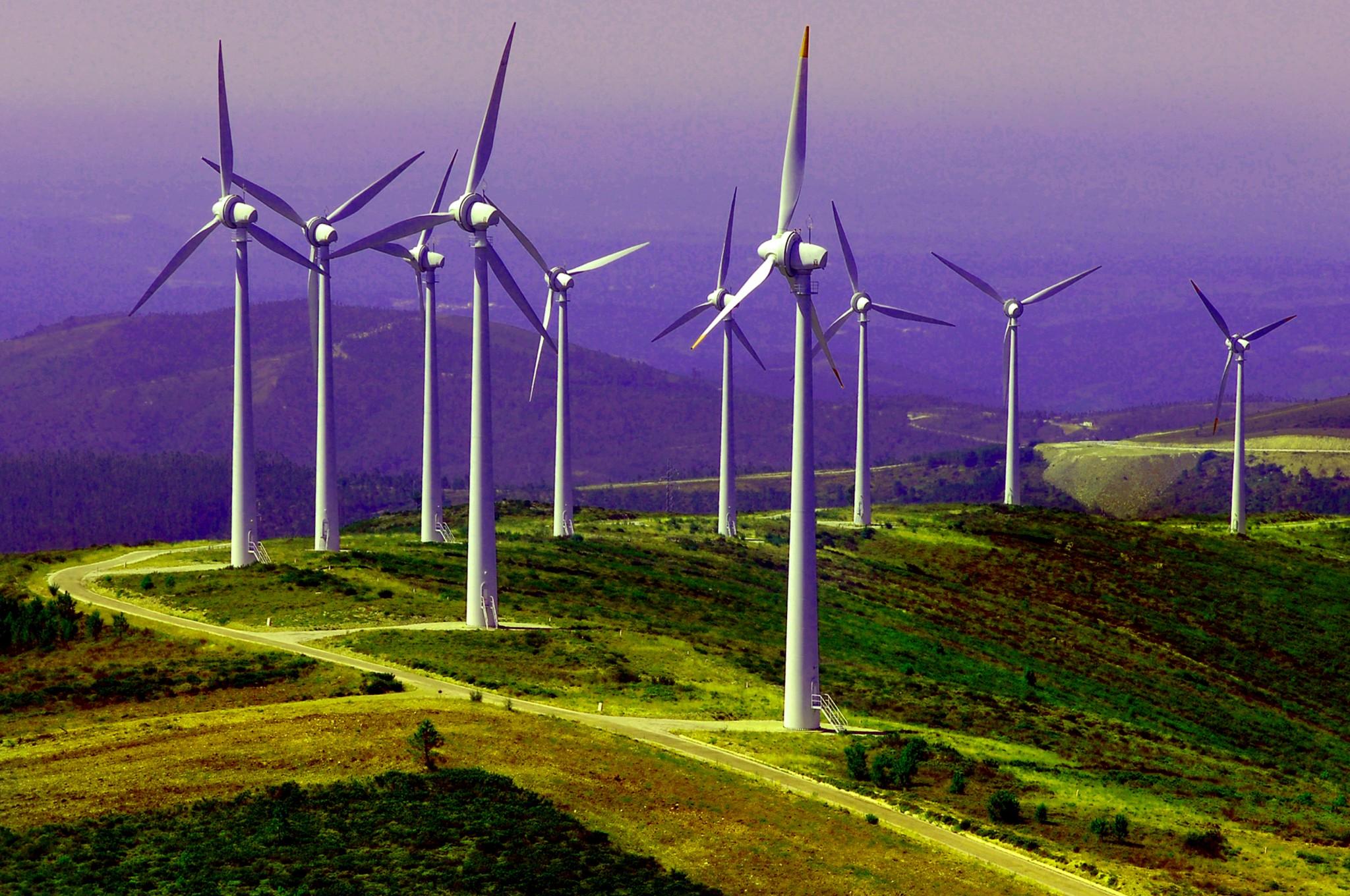 Un país movido sólo con energías renovables por cuatro días