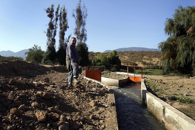 Grave crisis hídrica preocupa a regantes del río Maule