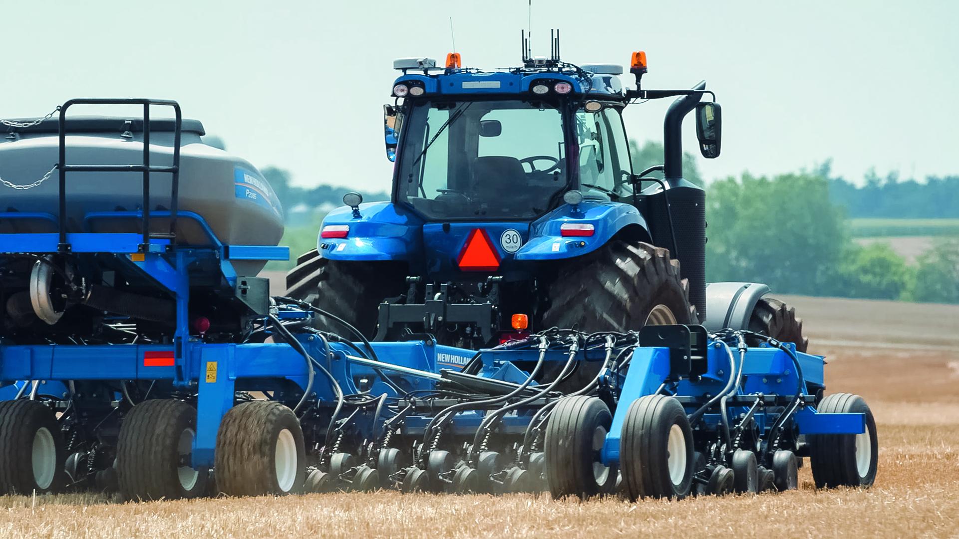 New Holland es reconocido con medalla de plata por innovador tractor
