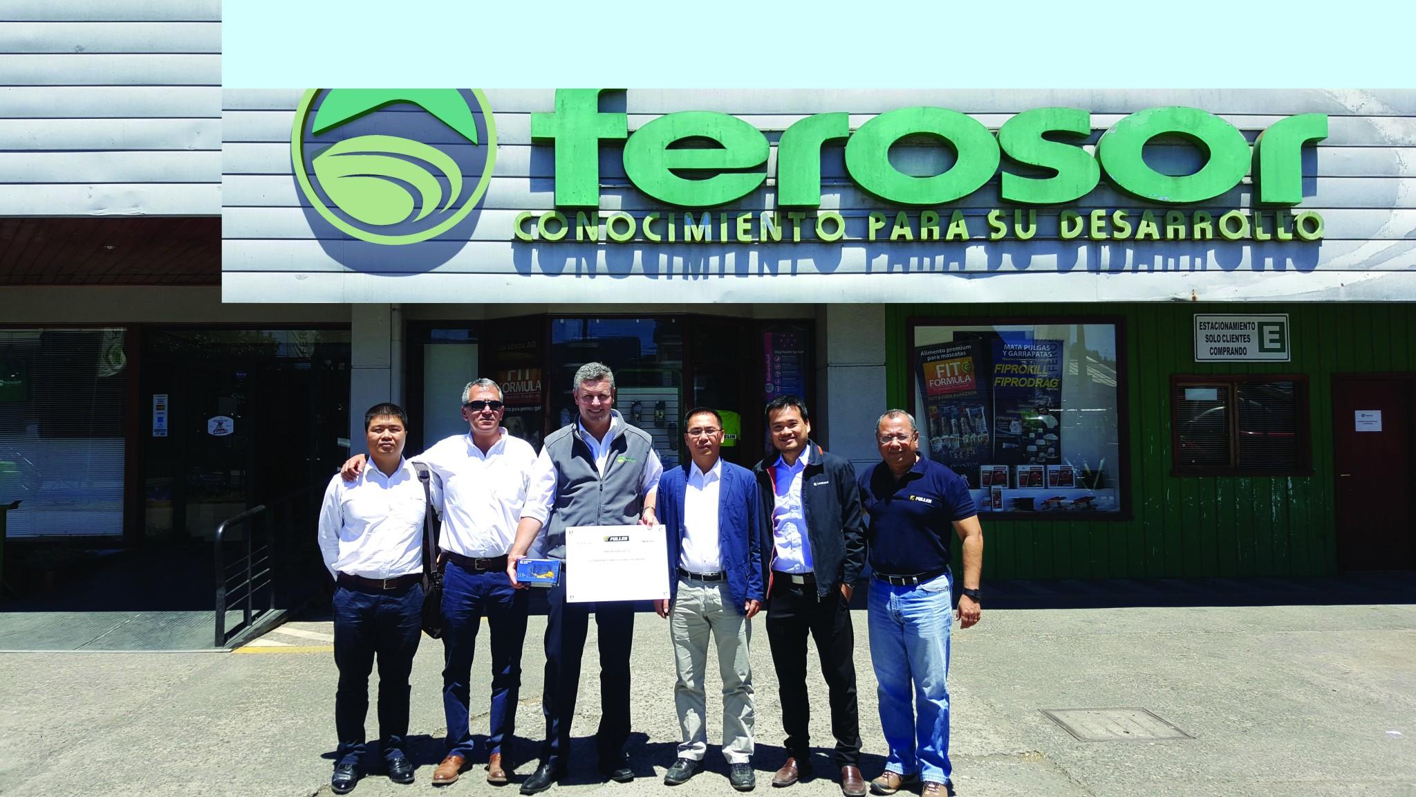 Ferosor será nuevo distribuidor Fullen en la región sur