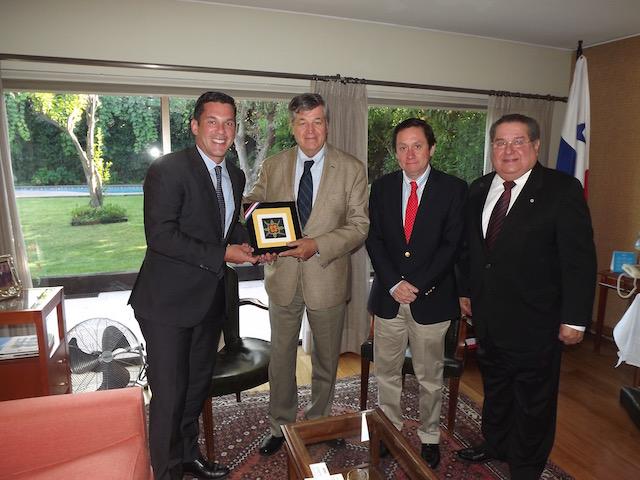 ASOEX se reunió con Vice Ministro de Relaciones Exteriores de Panamá