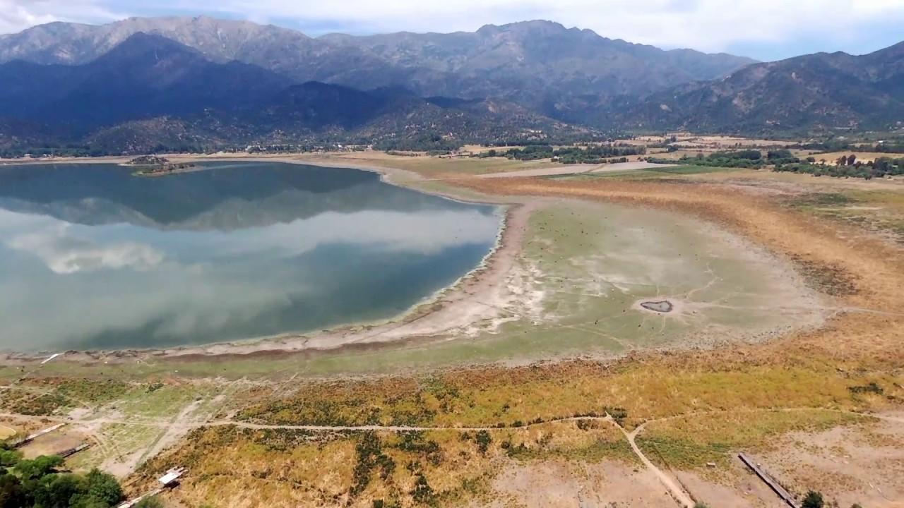 ¿Cómo se ve afectada la agricultura si se seca la Laguna de Aculeo?
