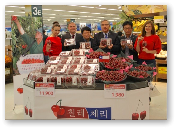 Campaña de promoción de cerezas chilenas termina con exitosa temporada