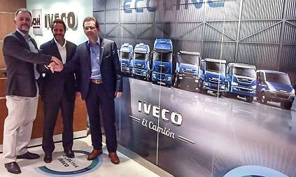 Sigdotek e Iveco renuevan contrato de representación