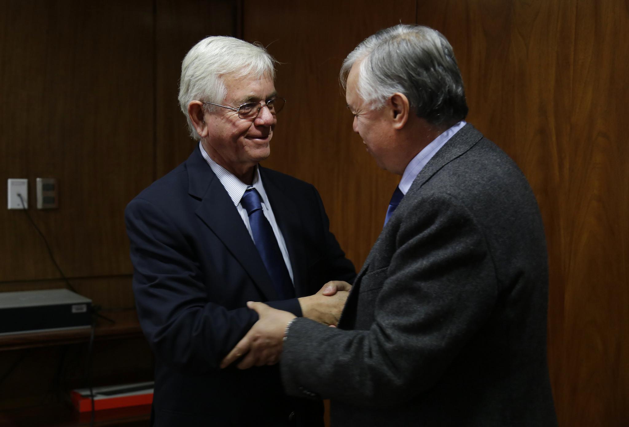Nuevo presidente de la SNA se reúne con Ministro de Agricultura