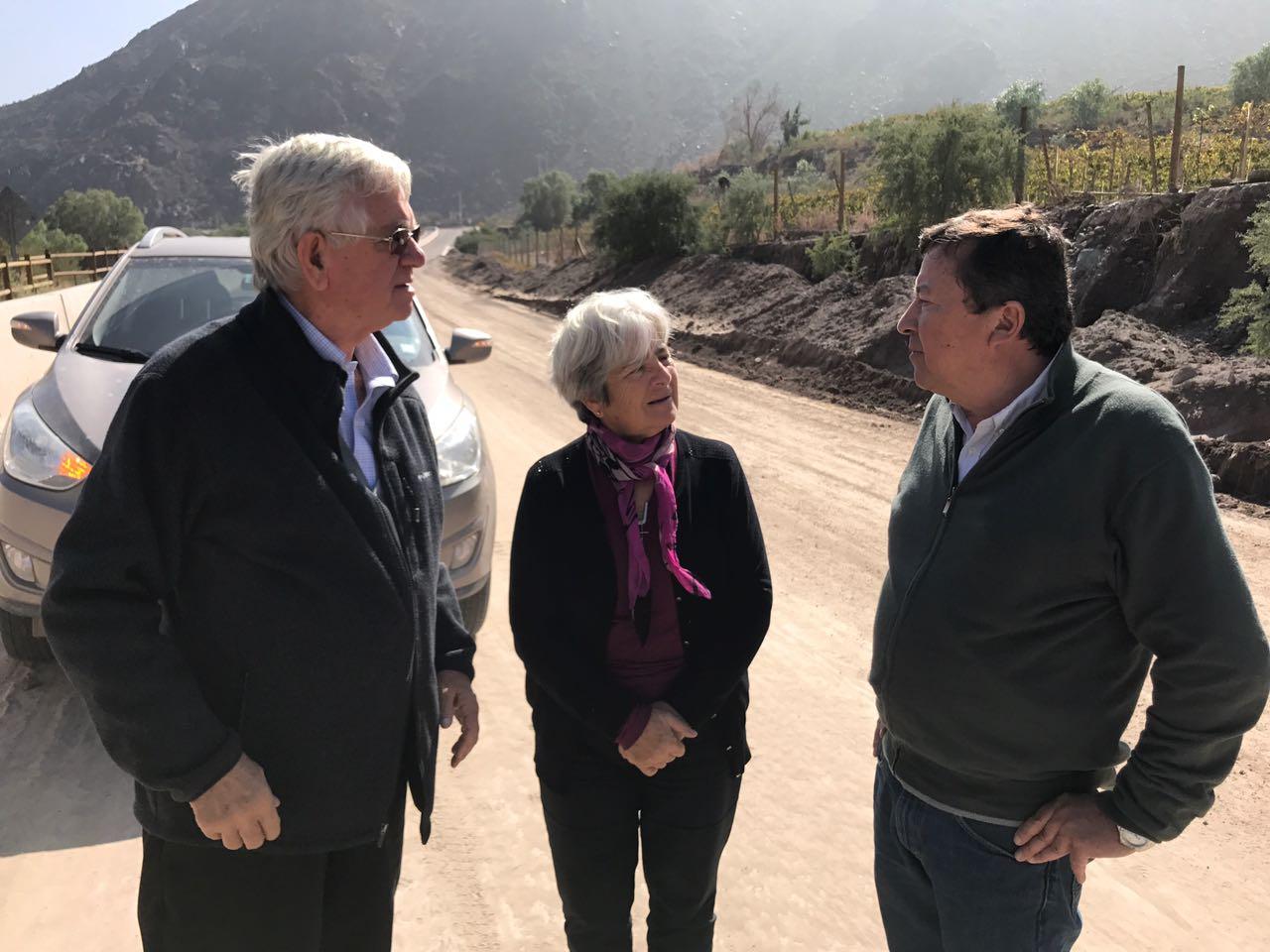 Presidente de la SNA visita zonas afectadas por lluvias en Copiapó