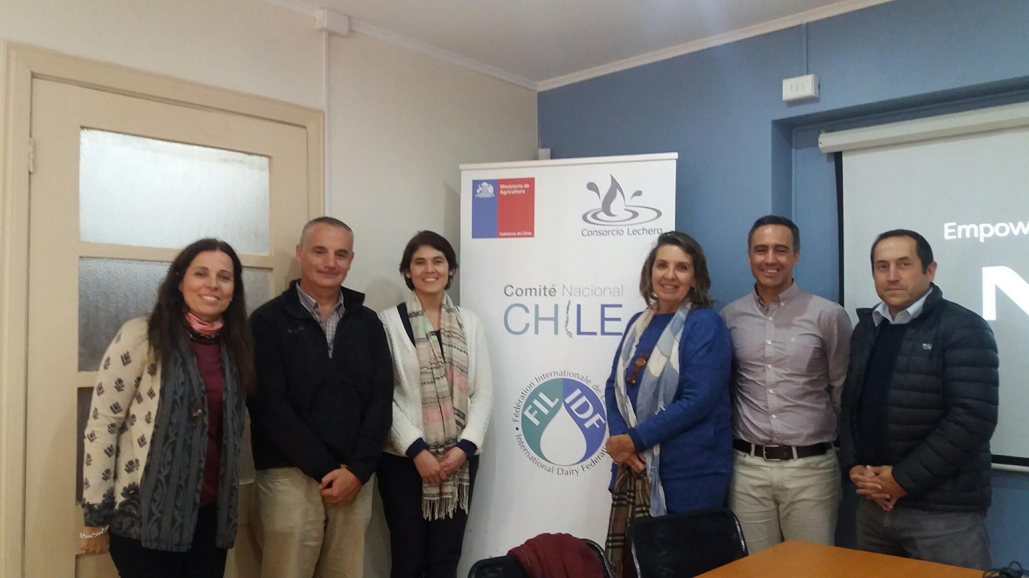 Científicos de Red Sudamericana se reunieron con Consorcio Lechero