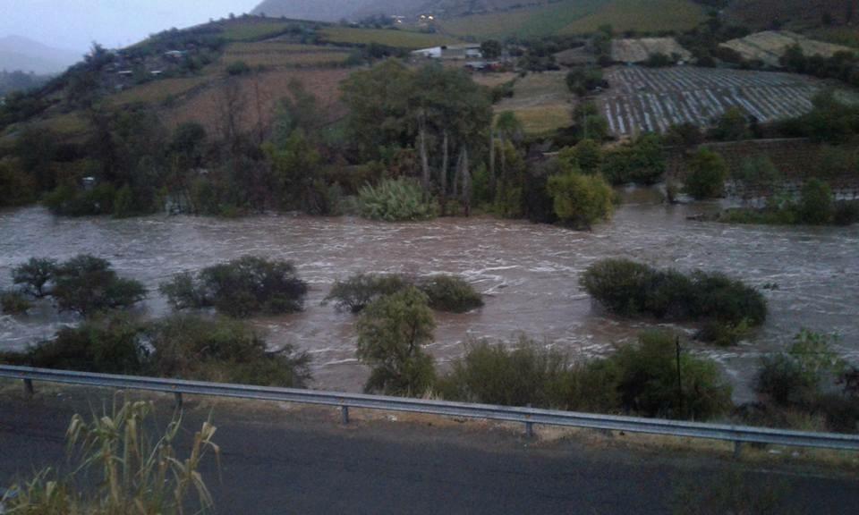 Agricultura se ve afectado por fuertes lluvias en el norte