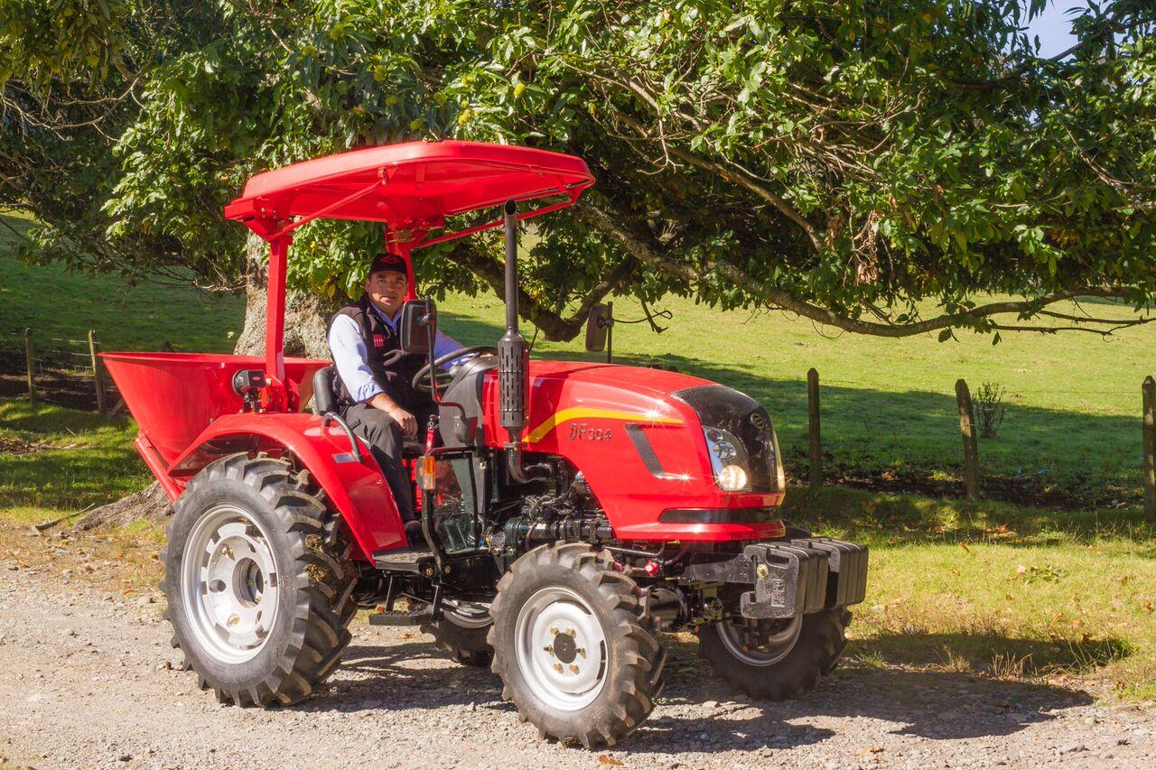 Metalúrgica Hund trae nueva generación de tractores de media y baja potencia