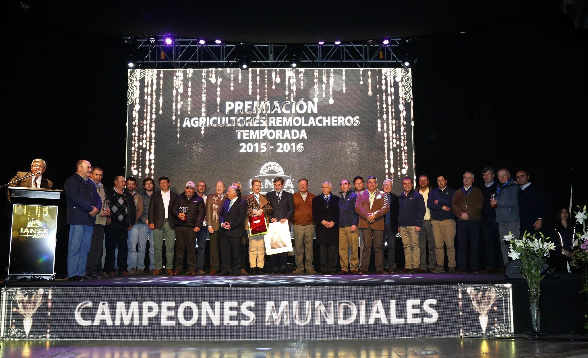 Los mejores remolacheros de la temporada 2015-2016