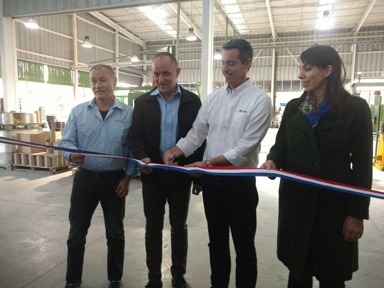 Rivulis inaugura línea de proceso de microirrigación en Chile