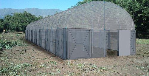 Invernadero que permitirá almacenar y recuperar agua