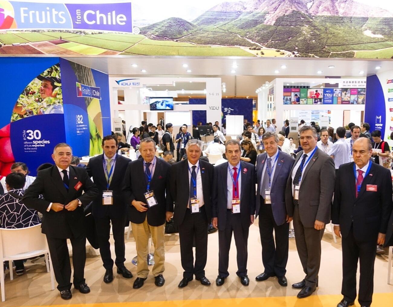Chile principal proveedor de frutas frescas de China