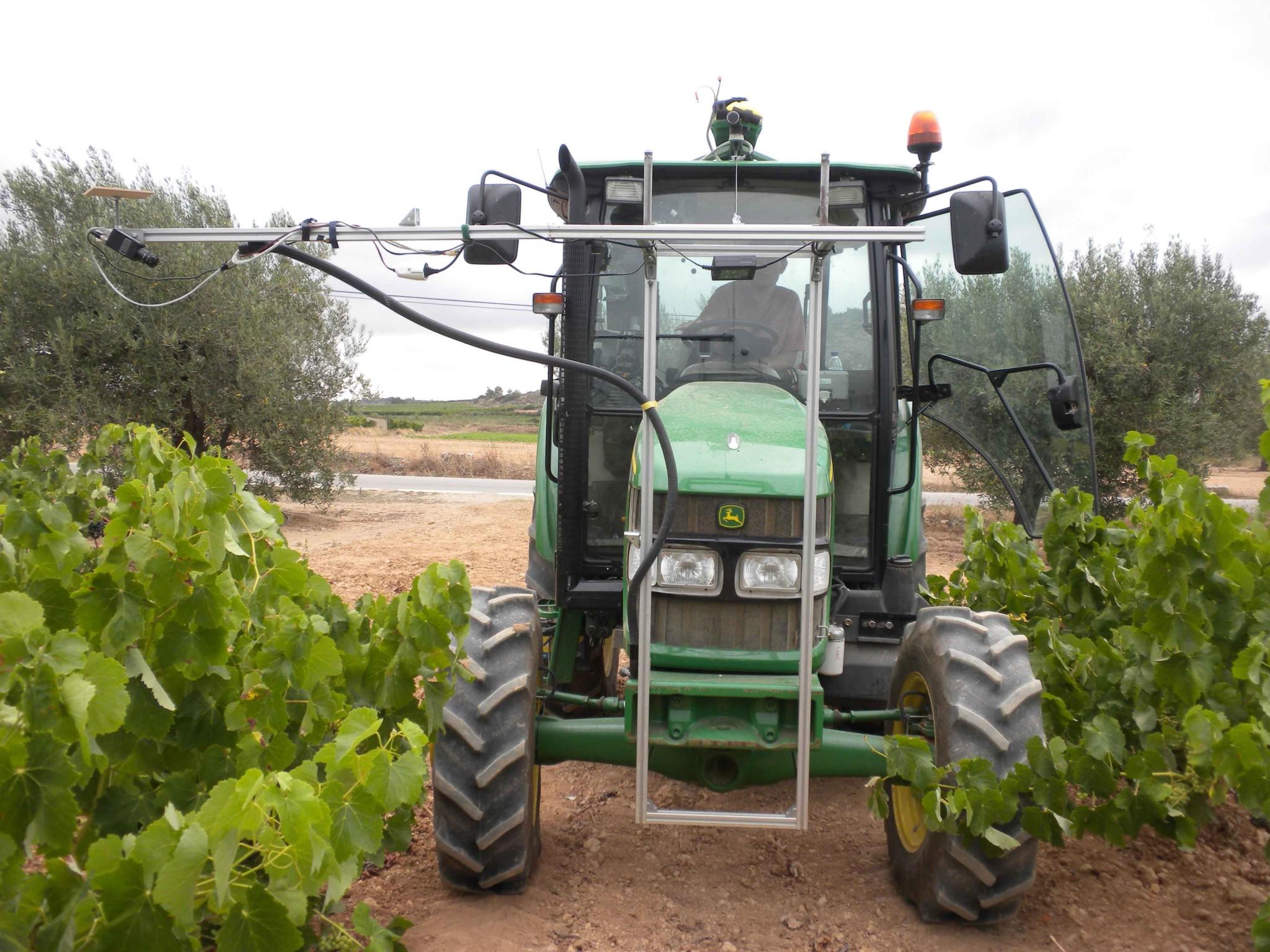 La robótica al servicio de las viñas y los vinos