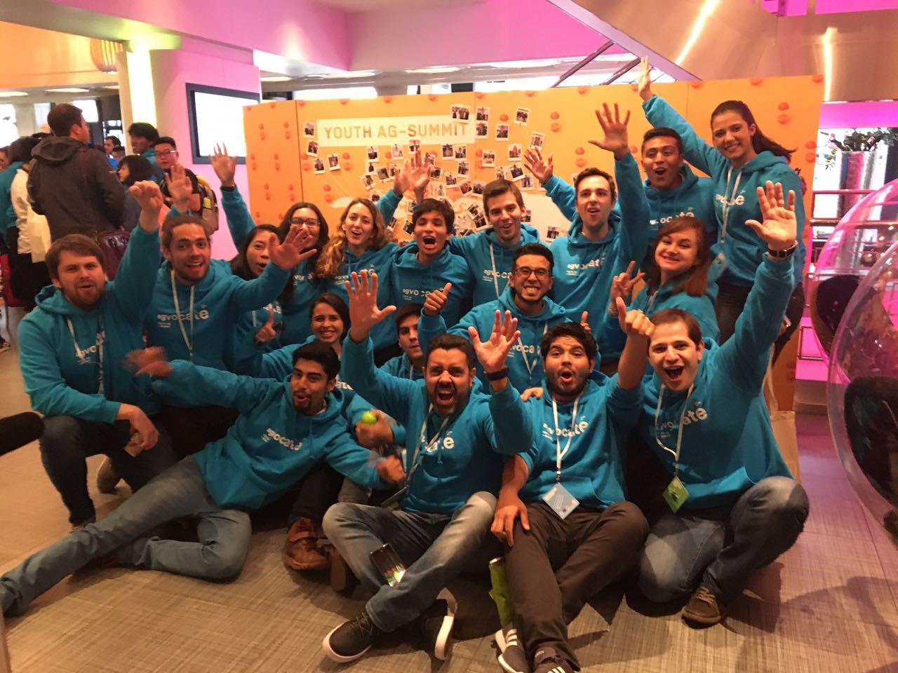 Estudiante chileno fue premiado en la Cumbre Agrícola Mundial de la Juventud