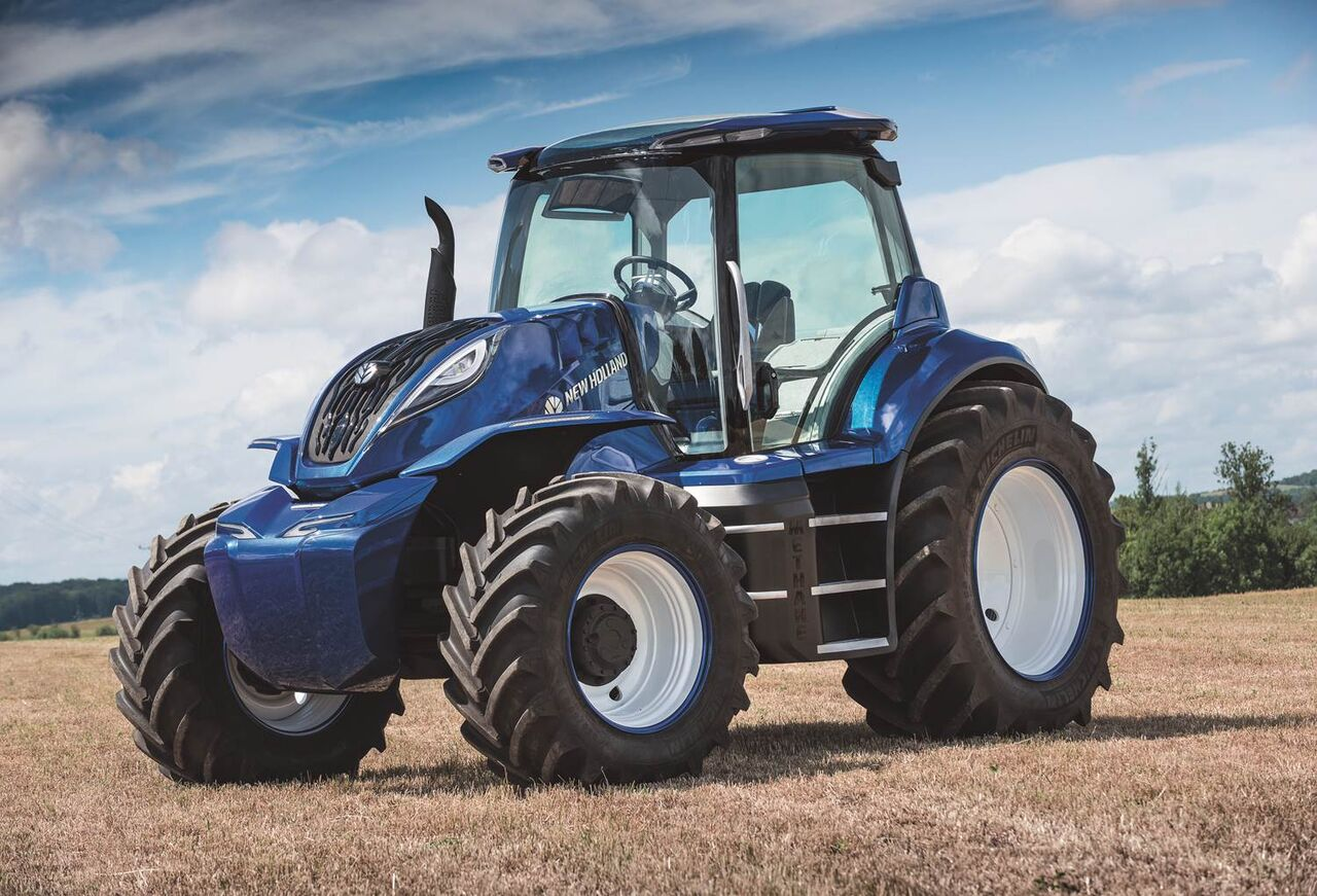 New Holland presenta tractor conceptual alimentado con metano