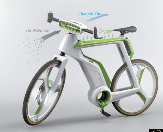Bicicletas que fotosintetizan