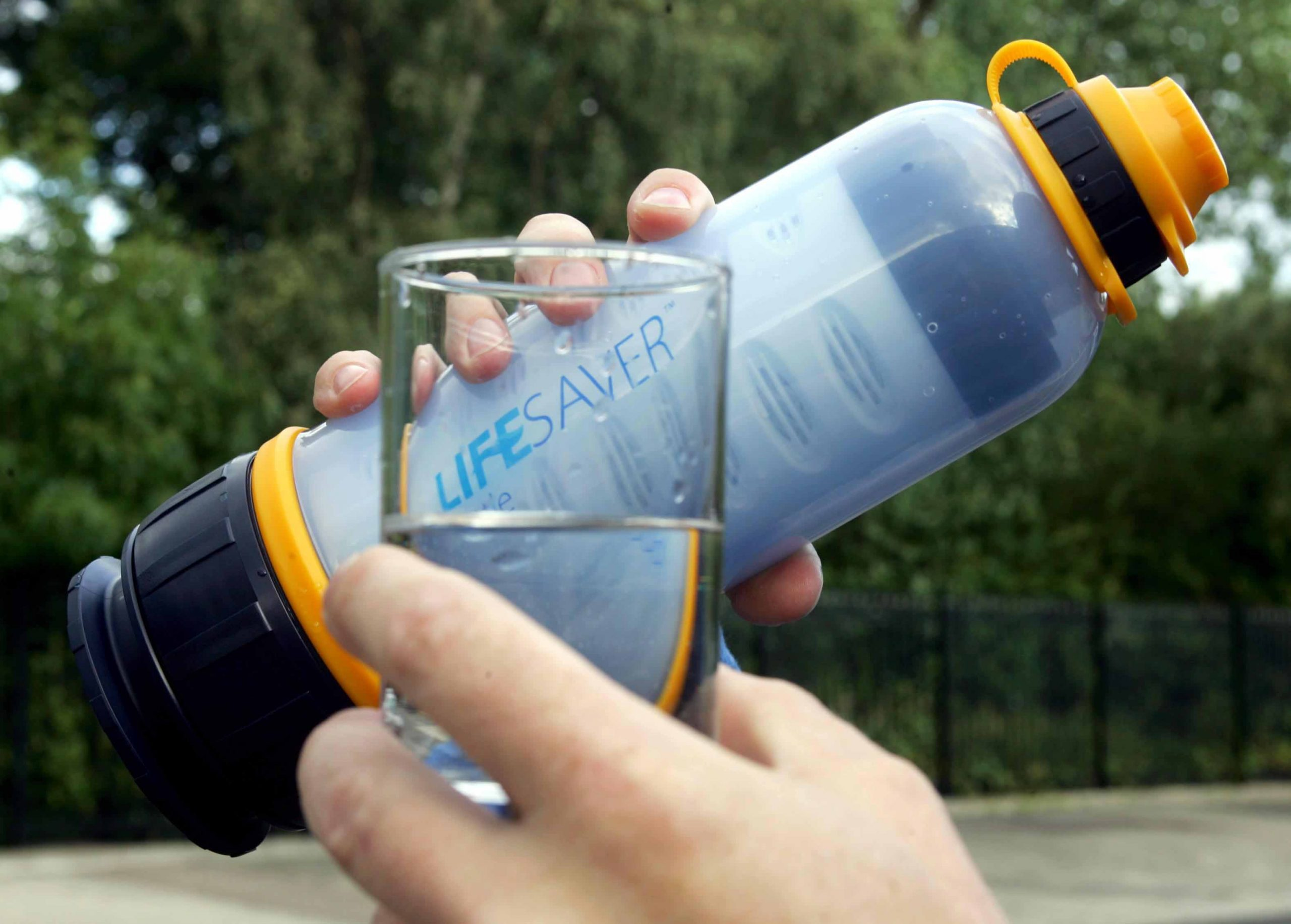 Revolucionario filtro portátil para potabilizar agua