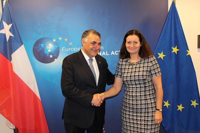 Chile y la UE buscan modernizar Acuerdo de Asociación