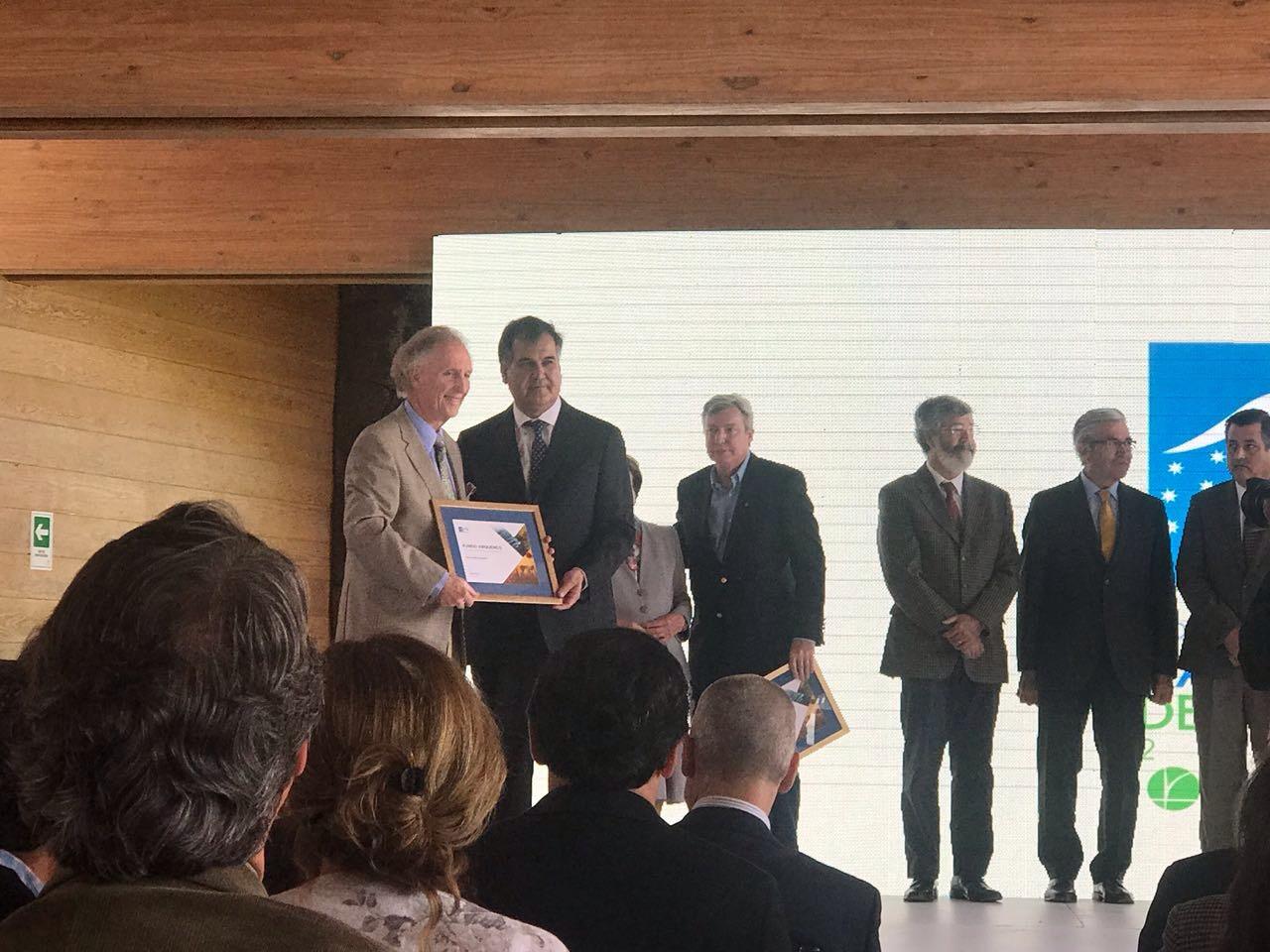 Fundo de Hortifrut fue premiado como Campo del Año 2017