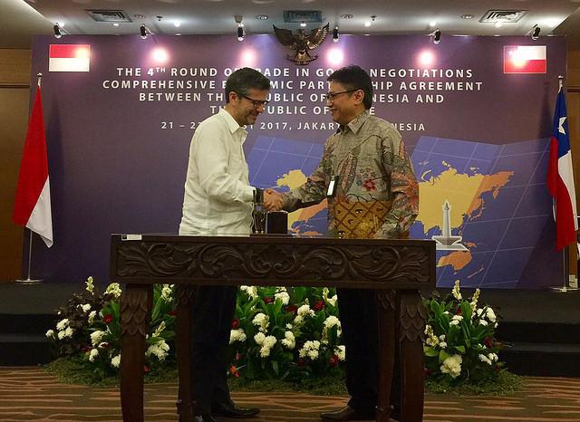 Chile e Indonesia firman Acuerdo Económico