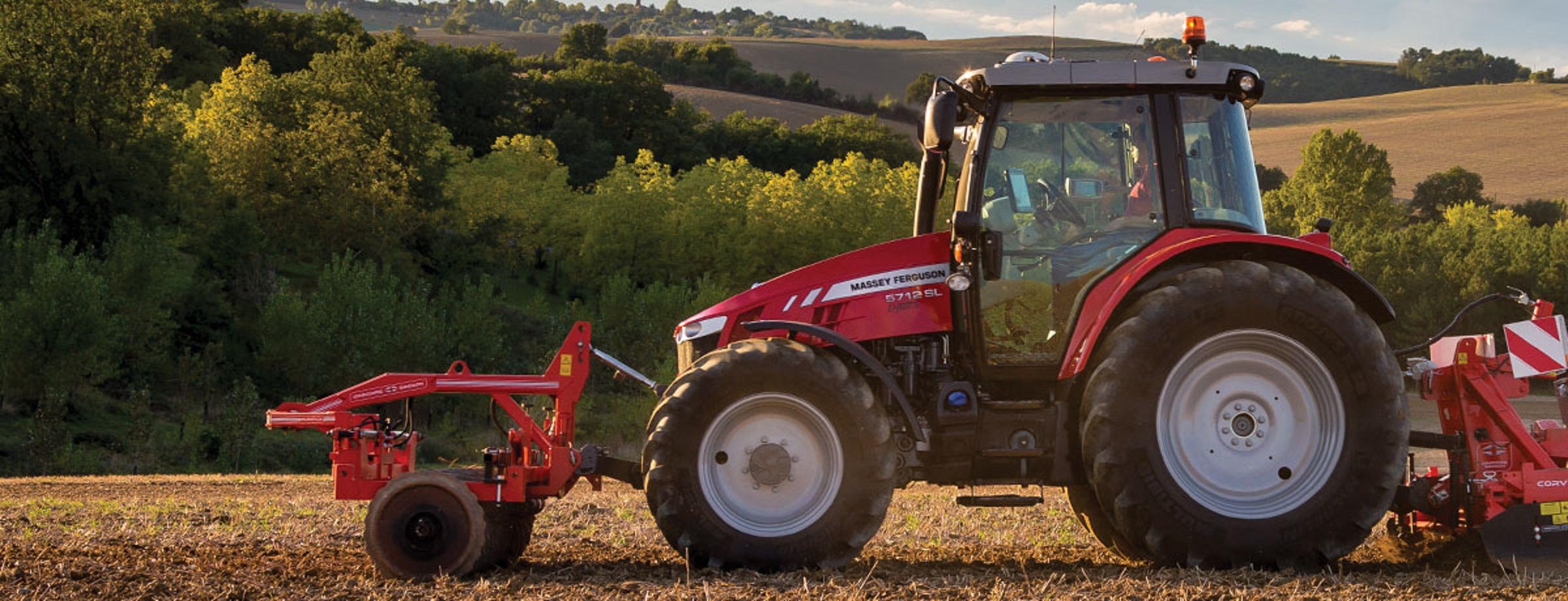 Massey Ferguson presenta potente tractor de alto rendimiento y tecnología