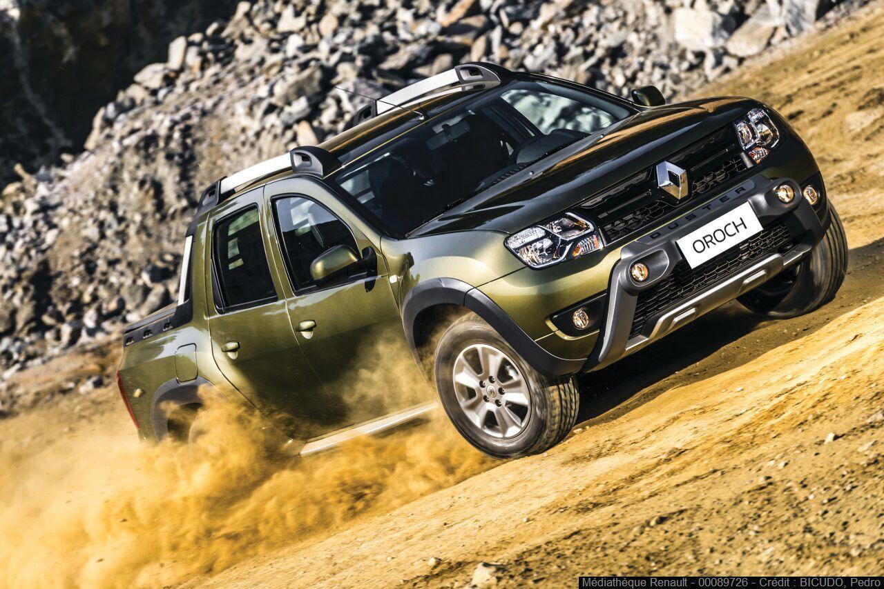 Renault lanzó la pick up Oroch