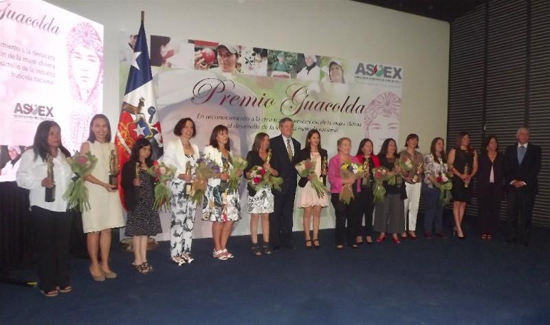 Fruticultura premia a las mujeres vinculadas al sector