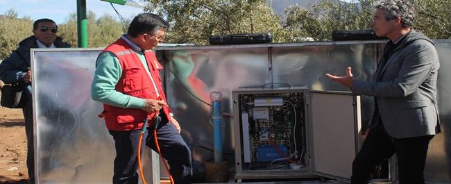 Investigadores descubren sales en pozos de riego en región de Coquimbo